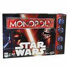 Mply45 Hasbro BRAND Star Wars Monopoly Game 630509309375