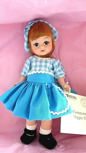 "Vintage 1997 Madame Alexander 8/"" Maggie Mix-up Commenmorative doll NRFB 31000"