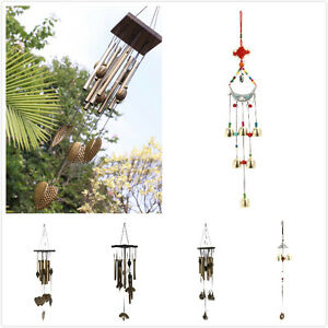 Outdoor-Living-Wind-Chimes-Car-Yard-Garden-Copper-Tubes-Bells-Hanging-Decor-Gift