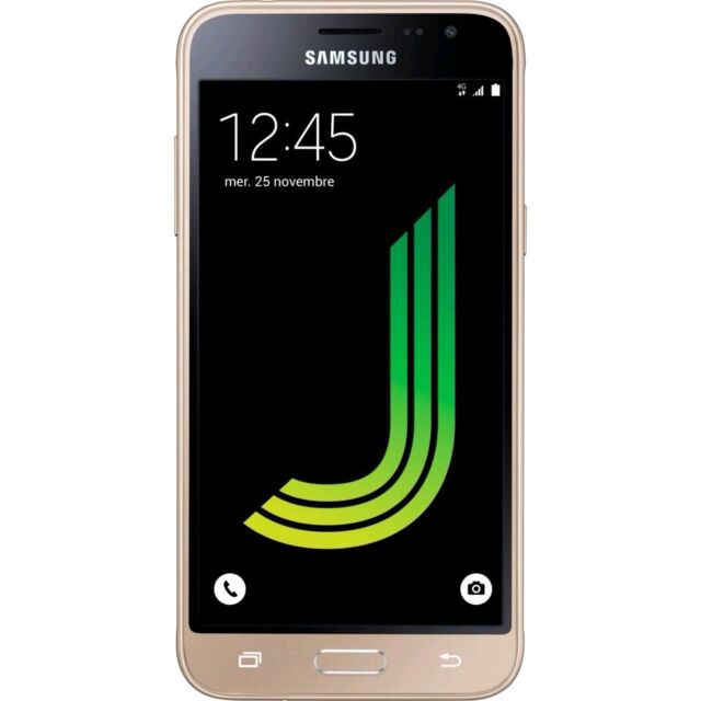 SAMSUNG GALAXY J3 2016 8GB GOLD ORO SM-J320 GAR. ITALIA 24 MESI BRAND 8 GB