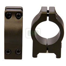 "Nikko GREEN Rifle Scope MOUNTS 2 Piece 1"" LOW Weaver RIS 20mm Picatinny NPMWMG"