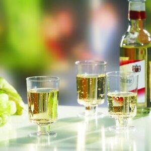 2x 20 Manche-verres Pour Vin, Ps 0,1 L Ø 5,1 Cm * 8,5 Cm Cristallin Monobloc-afficher Le Titre D'origine Des Friandises AiméEs De Tous