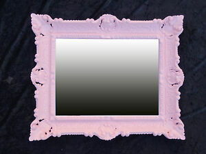 Wall-Mirror-Princess-56x46-Antique-Baroque-Repro-prinzessinspiegel-Pink-12