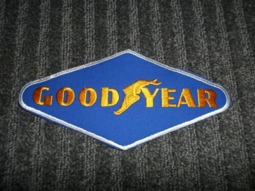 GOOD YEAR UNIFORM PATCH *VINTAGE Goodyear Tires Large 8 1//2 x 4 inches