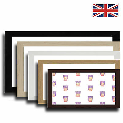 Panoramic Picture Frame Photo Frame, BLACK, MAPLE, WHITE, OAK, BROWN, BLACK ASH
