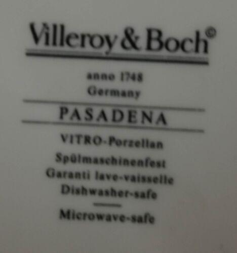 Milchkännchen Zuckerdose Villeroy /& Boch Pasadena