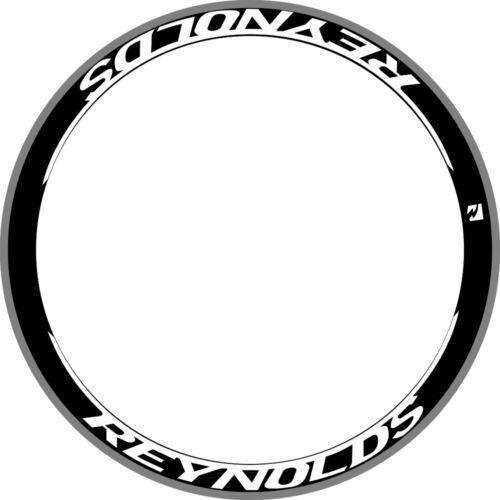 REYNOLS DEEP RIM WHEEL DECALS STICKER Replacement 700C STYLE KIT FOR 2 WHEELS