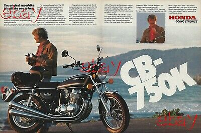 Classic Vintage Advertisement Ad PE94 1976 Honda 360 Motorcycle CJ-360T