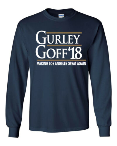 "Todd Gurley Jared Goff Los Angeles Rams /""2018/"" T-Shirt"