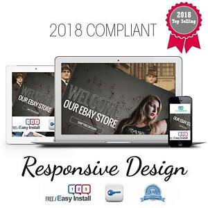 Full Professional eBay Shop Store & Listing Template Design