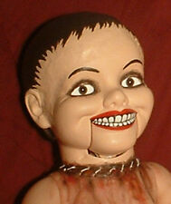 "HAUNTED Ventriloquist doll ""EYES FOLLOW YOU"" puppet creepy dummy OOAK reborn"