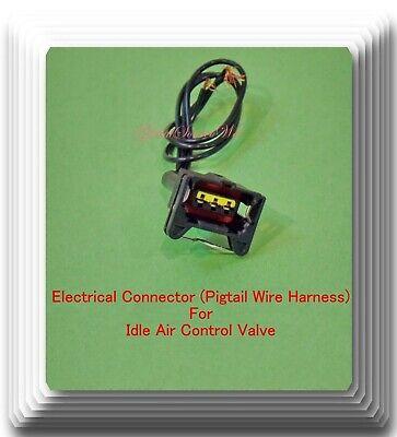 Idle Air Control Valve  W// Connector Fits Porsche 928 S Coupe V8 5.0L 1985-1986