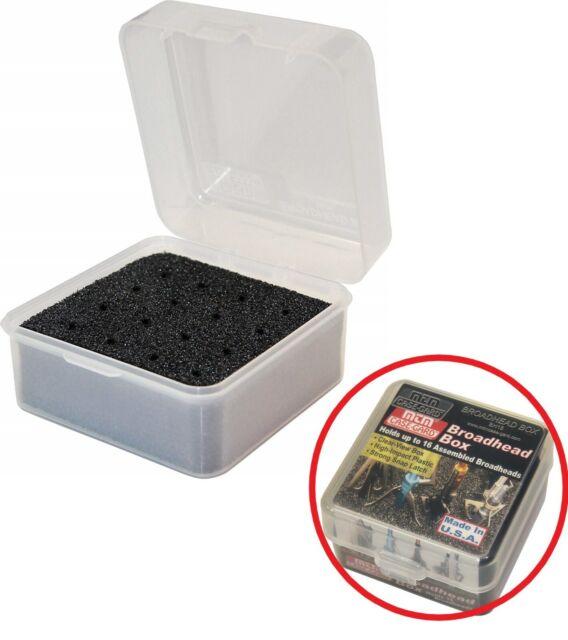 MTM Broadhead Box Clear