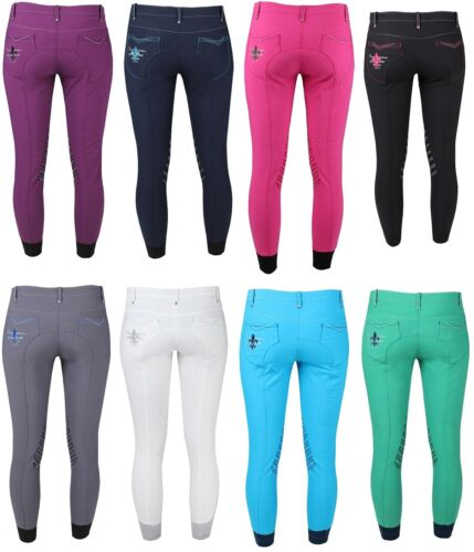 Horka Ladies Breeches Rimini Elasta extra stretch fabric on side part and backsi