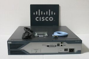 Details about Cisco 2821 Router IOS 15 1, CME 8 5, 1GBD/256F, CISCO2821  2801 2811 2851