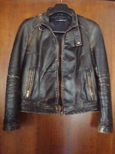 GIUBBINO-JACKET-REAL-LEATHER-GAS-BIKER