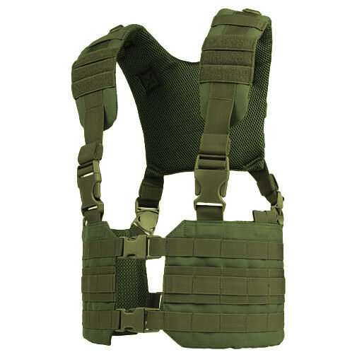 CONDOR TACTICAL RONIN MOLLE CHEST RIG MILITARY VEST GEAR CARRIER WEBBING OLIVE