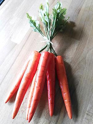 Liefern 6 X Große Möhren Karotten Deko Attrappen Dekoration Kunstobst Gemüse Kunstgemüse Auf Der Ganzen Welt Verteilt Werden