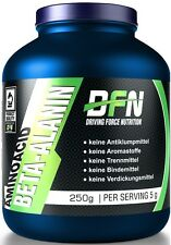 Beta-Alanin Pulver 250 g Dose Aminosäure Beta Alanin kaufen von DFN Beta Alanine