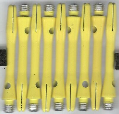 1.5in 2ba Electric Green DRX Coated Aluminum Dart Shafts 1 set of 3