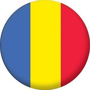 Romania Flag Pin Button Badge Magnet Keyring Bottle Opener Mirror