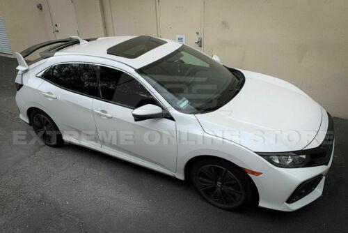 Fot 16-up Honda Civic Hatchback FK4 FK7 Mugen Style JDM Rear Roof Wing Spoiler
