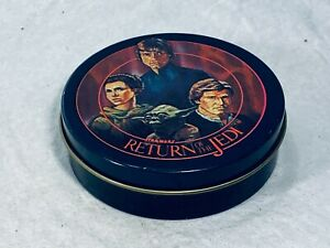 """STAR WARS """"Return of the Jedi"""" Tin, 1983 by CHEINCO, Made in USA - Very VG Cond"""
