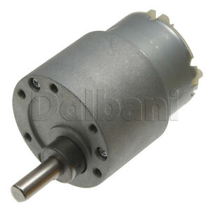 Image Is Loading 12v Dc 30 Rpm High Torque Gearbox Electric