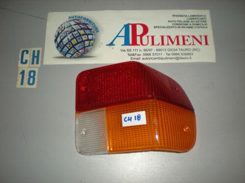 TRASPARENTE PLASTICA POSTERIORE REAR LAMPS DX ALFA ROMEO ALFASUD LEART