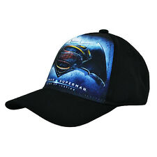 OFFICIAL LICENSED PRODUCT Batman Vs. Superman Cap Nero Junior Baseball Cappello Regalo