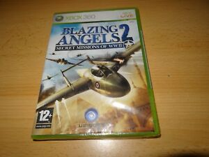 BLAZING-ANGELS-2-SECRET-MISSIONS-Xbox-360-Nuevo-Empaquetado-PAL-VERSIoN