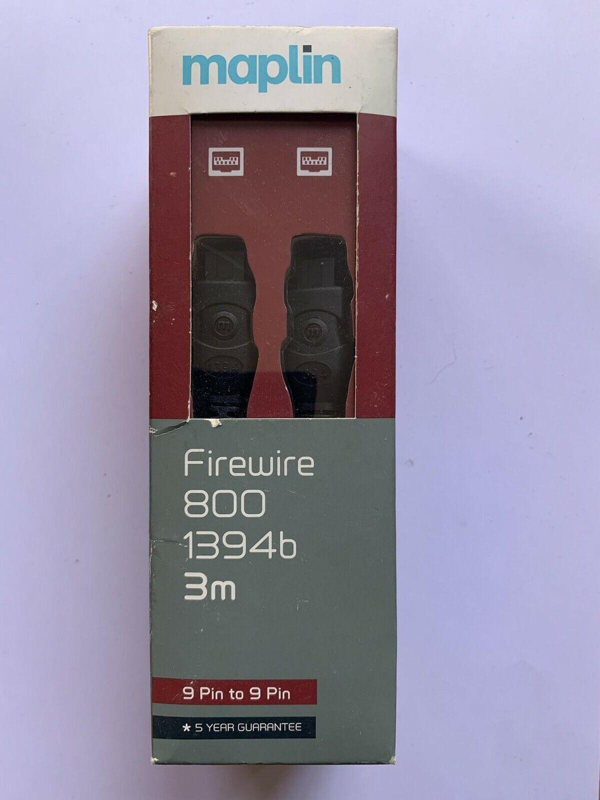 Firewire 800 1394b 9 PIN to 9 PIN 3m