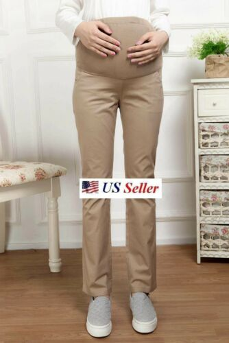 Spring Summer Fashion Pregnant Women Maternity Care Belly Pants