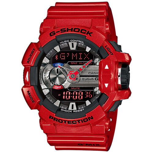 eb44fd32e89 CASIO G-SHOCK G MIX Bluetooth Red Watch GShock GBA-400-4A ...
