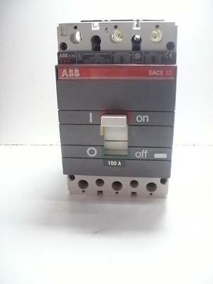 TESTED!! ABB MM00219291 SACE S3N 100A 3 POLES 600VAC//VDC QUANTITY! NEW!!