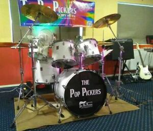 Details about CUSTOM BASS DRUM DECAL personalised artwork and band logo  design available