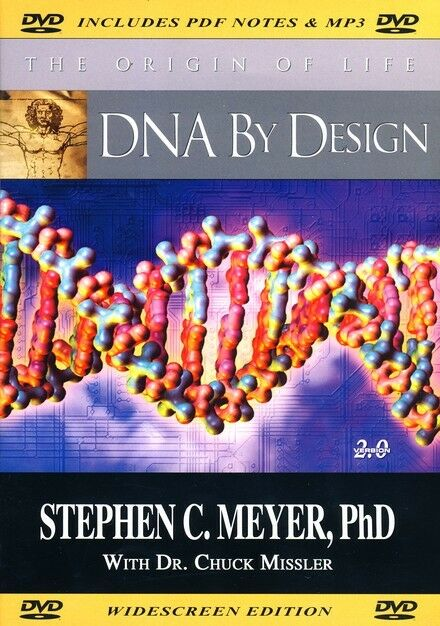 DNA BY DESIGN DVD THE ORIGIN OF LIFE WITH CHUCK MISSLER
