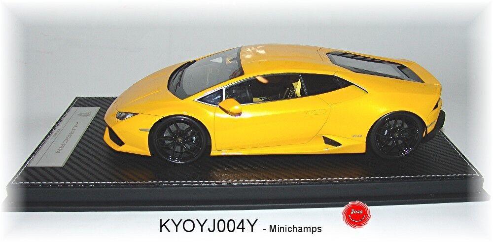 alta calidad general Kyosho j004y Lamborghini Huracán gelb-metallic - 1:18  NUEVO EN EN EN EMB. orig.  la mejor selección de