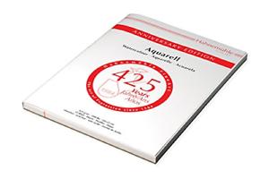 Hahnemuhle Edición de aniversario 425gsm Acuarela Block 30x40cm 15 Hojas