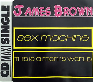 James-Brown-Maxi-CD-Sex-Machine-This-Is-A-Man-039-s-World-Germany-EX-EX