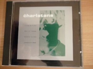 THE-CHARLATANS-OVER-RISING-1991-SPV-BEGGARS-BANQUET-GERMAN-OPPORTUNITY-THREE
