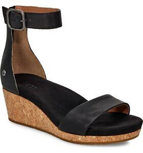 f4b9f269820 Women s Shoes UGG ZOE II Open Toe Ankle Strap Wedge Sandals 1102674 ...