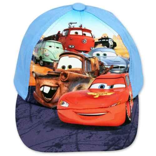 Boys Official Character Disney Cars Planes Casquettes de Baseball Été Chapeau Soleil 2-8Y