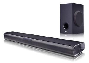 LG-SJ2-2-1-Soundbar-160-Watt-kabelloser-Subwoofer-Bluetooth-Fernbedienung