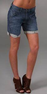 GENETIC-DENIM-Designer-Cuffed-Jean-Shorts-Size-29-11-NEW