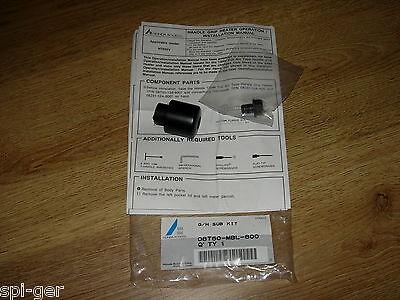 Honda NT650V Deauville  Black /& Red Domino RR Diamond Handle Bar Grips