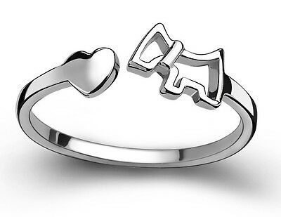 925 Sterling silver ring finger fashion women lady Ring opening Adjustable GIFT!