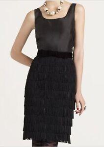 edcfe5d9dc10 Image is loading Kate-Spade-New-York-Marielly-fringe-skirt-dress-