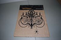 Newbridge Halloween Burlap Table Runner Black Chandelier Spiders 13 X 70