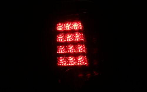 LED RÜCKLEUCHTEN LAMPEN FIAT 500 500C 2007 ABARTH SCHWARZ BLACK SMOKE DUNKEL